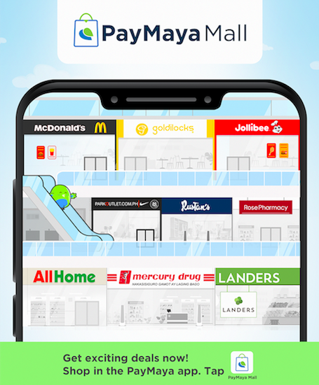 There's a new and better way to shop. Now, instead of visiting different apps, you can buy food, medicine, groceries, and your favorite brand items all from within the PayMaya app with PayMaya Mall. #DontPayCashPayMaya #PayMayaMallGrandOpening #PayMayaMall