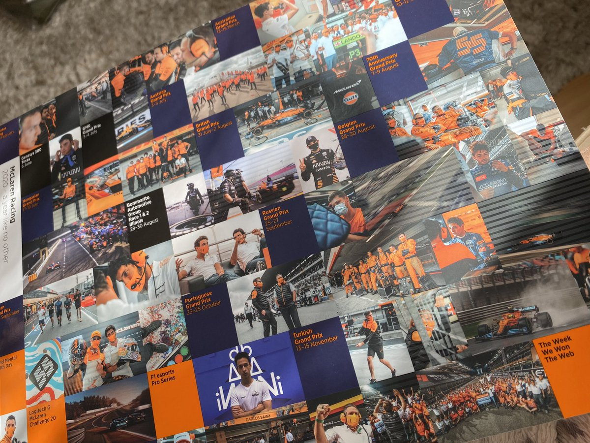 The perfect way to look back on a year like no other! 🧡📸  Get your hands on the official 2020 McLaren Yearbook ➡️ https://t.co/49WlrdoNWd