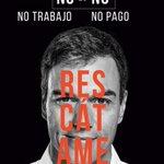 Image for the Tweet beginning: Campaña de pegada de carteles