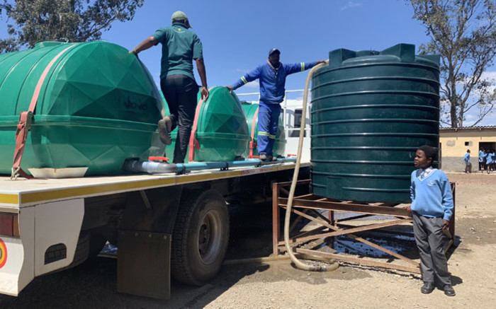 Makhanda water situation critical Gift of the Givers