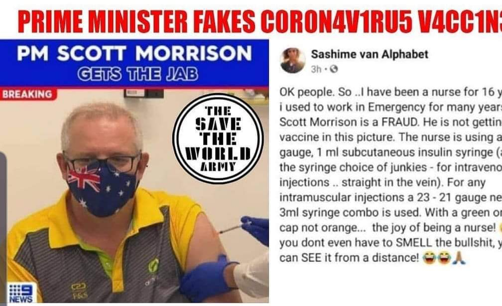 Scott Morrison  is a fraud and a lier.  We ask for anre vaccine and investigation into the false agenda. @ScottMorrisonMP @GregHuntMP https://t.co/O6pSShTF5K
