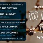 Image for the Tweet beginning: Hoy, en nuestra #GrammarZone... make