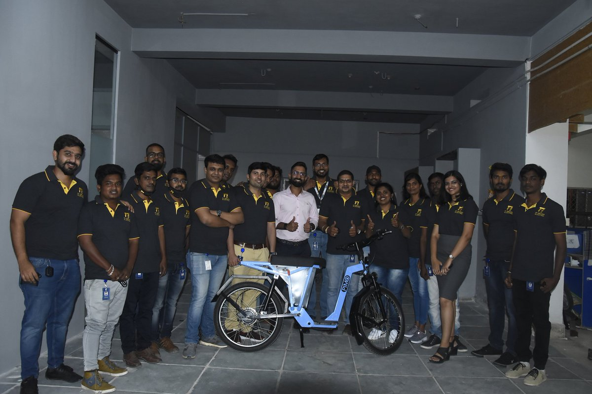 Wishing @VisakhSasikumar and his enthusiastic team @pi_electric wonderful days ahead.  Here is to a green India!