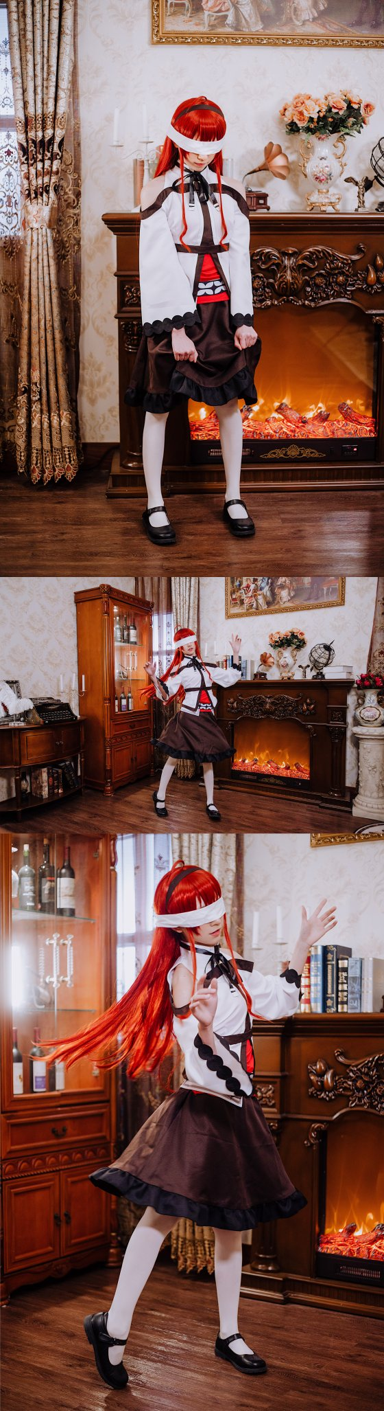 画像,#無職転生  #cosplay 名前はエリスで、アリスではない✩昨日はミスをしてしまい申し訳ありませんでした( •̥́ ˍ •̀ू )coser:@kitaro…