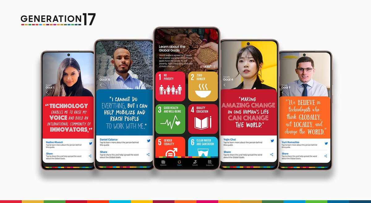 Alongside @UNDP, our four new #Generation17 Young Leaders are championing equality, education and more across the globe. Learn more about the Young Leaders and their inspiring work: