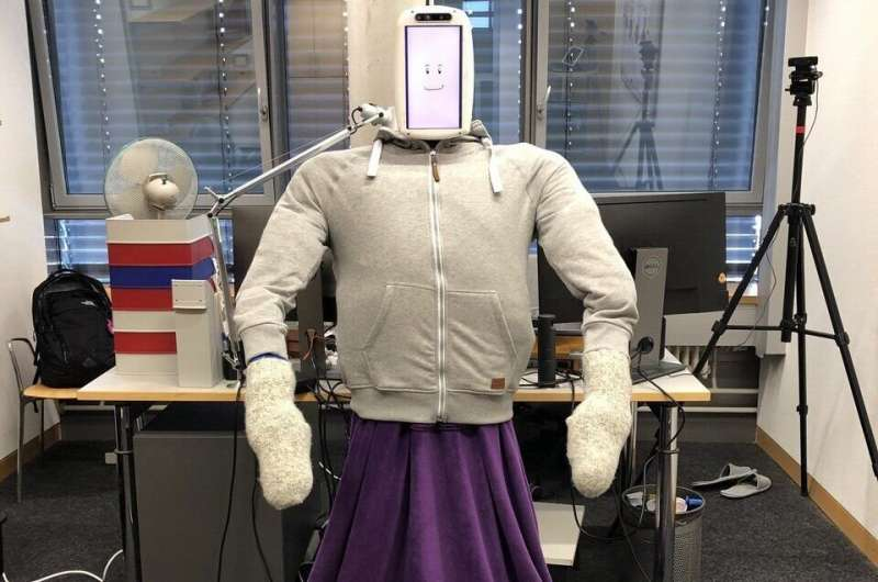 in these days of #SocialDistancing we all could use a #HuggieBot urgently - although the sense of fashion  instilled by its #swiss creators leaves a lot to be desired  they could at least have added #BernieSandersMittens