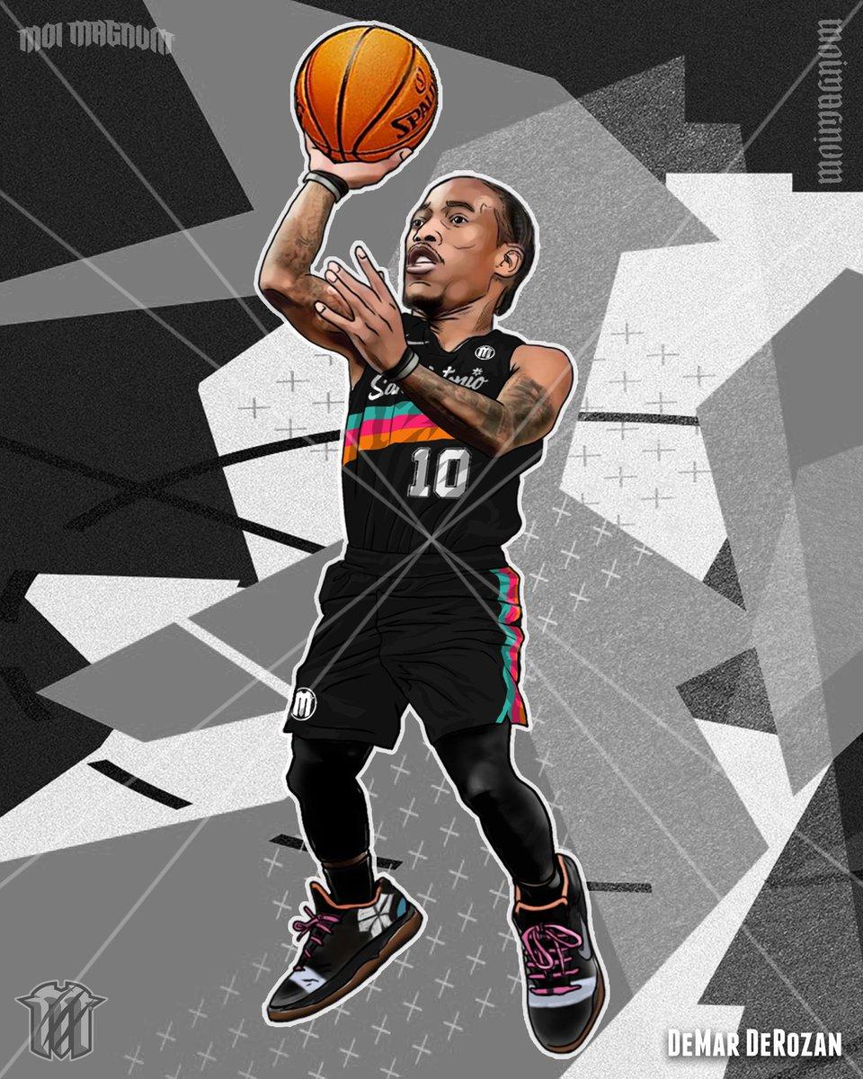 ʀᴇᴀɴɪᴍᴀᴛɪᴏɴ ⛹️ @DeMar_DeRozan 🏀 @spurs  #DeMarDeRozan #FiestaColors #GoSpursGo #SanAntonioSpurs #Spurs #BasketballArt #FanArt #DigitalArt #DigitalPainting #Chibi #Caricature #PhotoshopEdit #Chibified   #MoiMagnum® #Reanimations™ ©2021