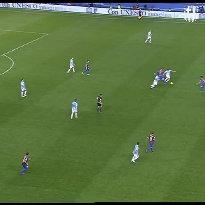 Replying to @FCBarcelona_es: G⚽️L DEL DÍA 👑 Messi