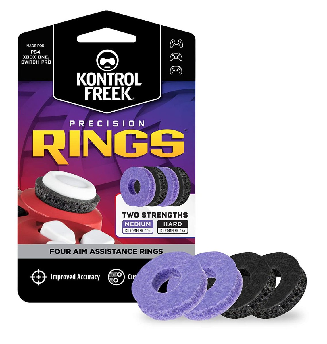 KontrolFreek Precision Rings Aim Assist Motion Control for PS5, PS4 & others   Amazon USA 16