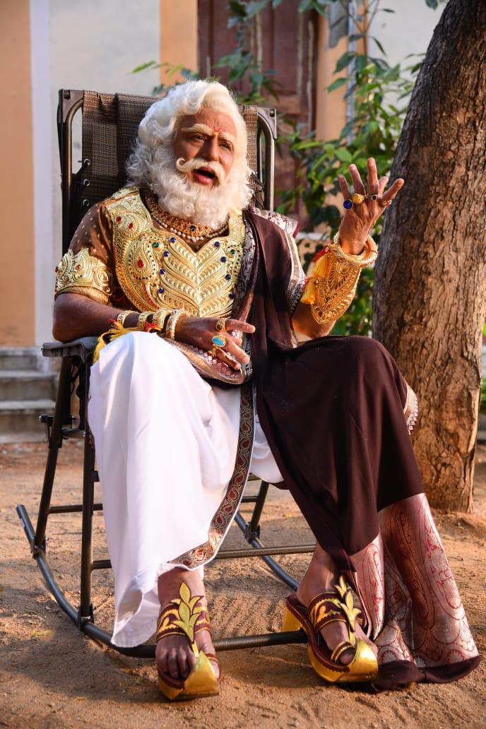 On The Occasion Of Bheeshma Ekadasi, NataSimha Nandamuri Balakrishna Released Stills Of His Bheeshma Character నేడు భీష్మ ఏకాదశి సందర్భంగా నటసింహ నందమూరి బాలకృష్ణ ఎన్ టీ ఆర్ కధానాయకుడు చిత్రంలో తాను భీష్ముని పాత్రలో నటించిన స్టిల్స్ ను విడుదల చేశారు. #NBK #Balayya