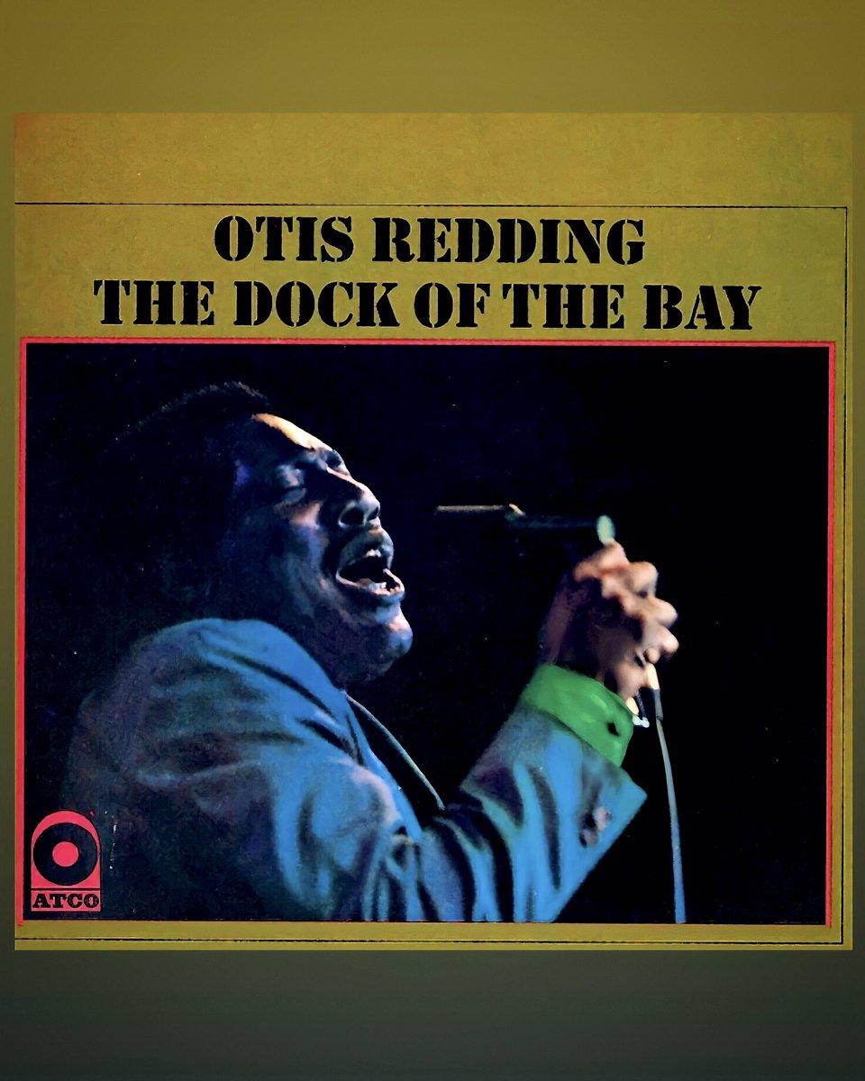 """#OTD in 1968 """"The Dock of the Bay"""" ♥️✨🇺🇸  📸: #OtisRedding #AtcoRecords"""