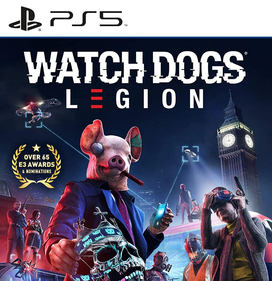 Watch Dogs: Legion PS5 Was $59.99 Now $29.99    Amazon USA 4