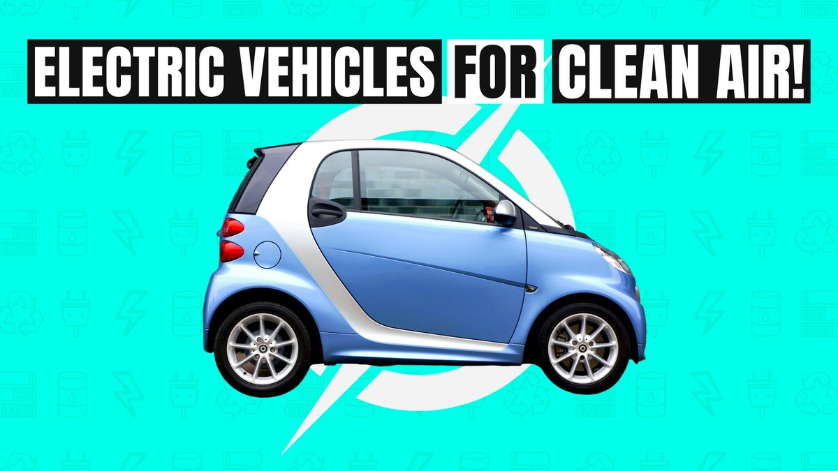 Electric vehicles 🚗🚌 have a key part in curbing vehicular emissions & fighting #airpollution   We asked Delhiites if they would switch to using an #EV? 🤔 Watch the first episode of #DrivingGreen 💚 @SwitchDelhi @pluc_tv  #CleanAirEveryday #SwitchDelhi