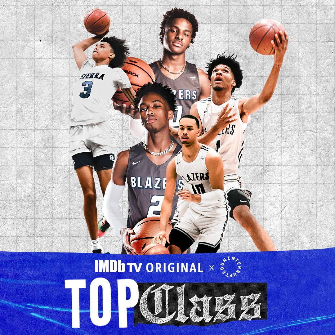This ain't your normal high school team.. 🏀😳  #TopClassHoops drops Friday 2.26, streaming free on @IMDBtv.