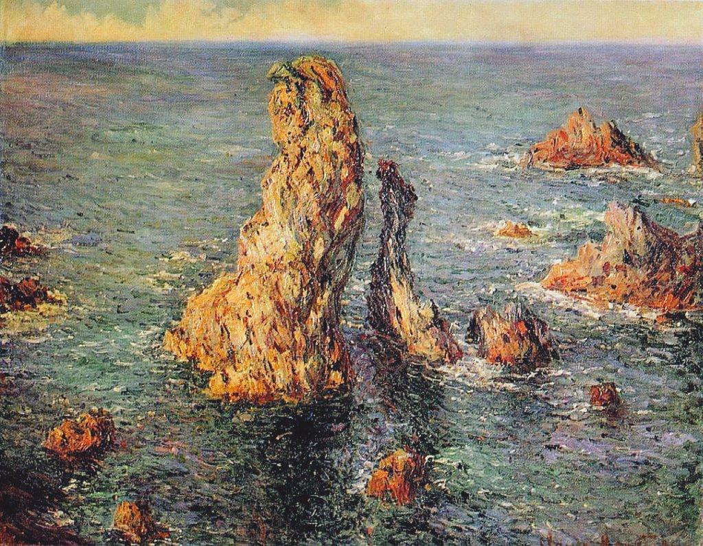 """""""El sueño es un arte poético involuntario.""""  🖋 Emmanuel Kant   🎨 Claude Monet"""