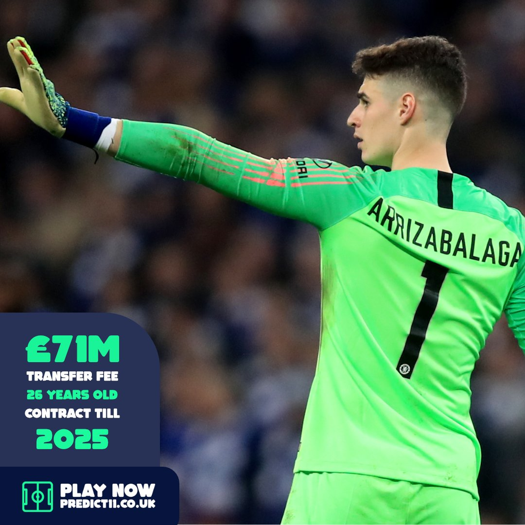 Following a strong start to the first part of his debut season with Chelsea, Kepa came under criticism for his inconsistency and poor performances, as well as his low save %. He finished the following  season with the worst save percentage in Premier League history.  #CFC #Kepa