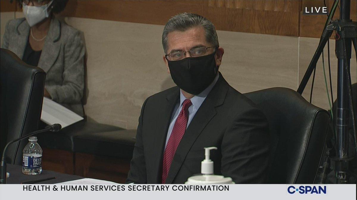 Confirmation Hearing: Health & Human Services Secretary Nominee Xavier Beccera - LIVE on C-SPAN