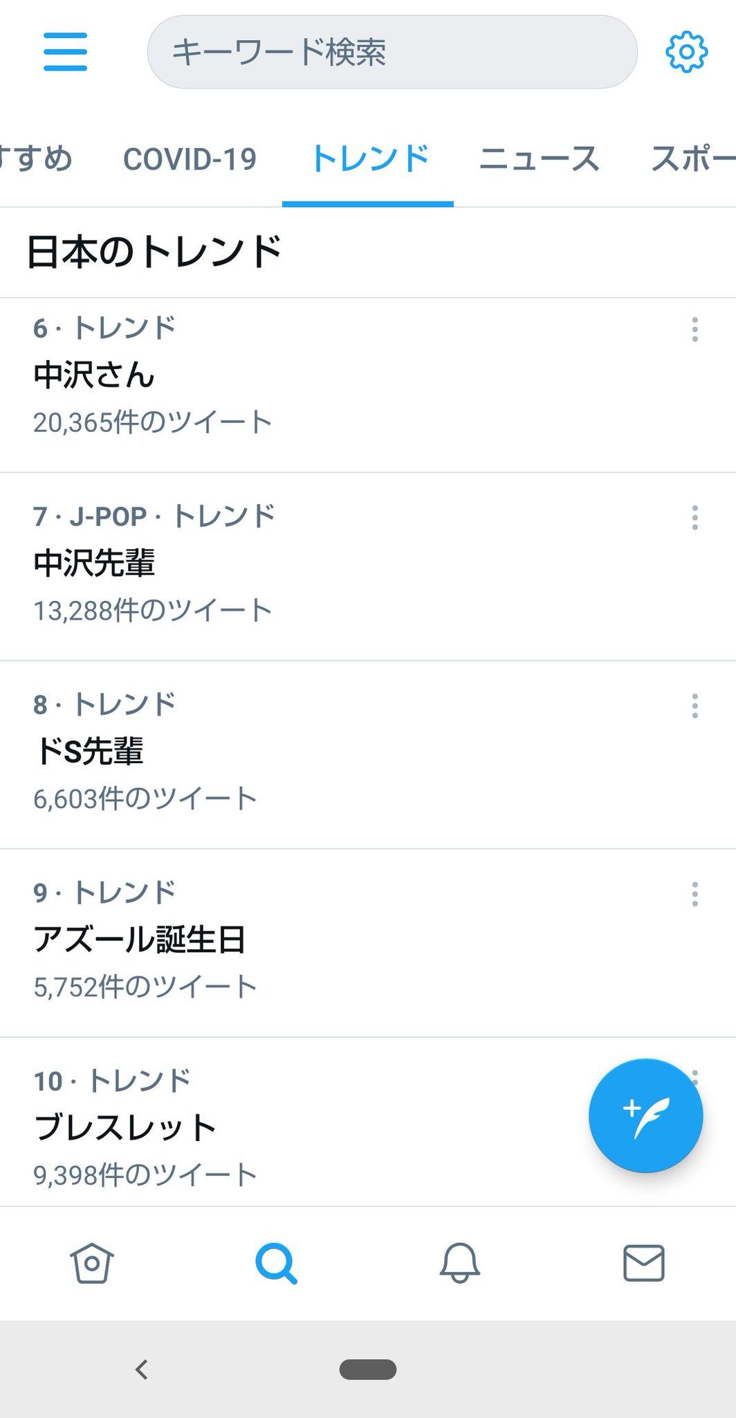 中沢さん Photo,中沢さん Twitter Trend : Most Popular Tweets