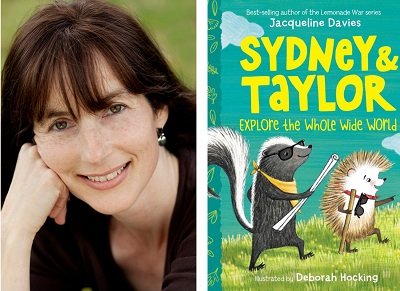 test Twitter Media - Welcome Jacqueline Davies to our Virtual Book Tour! The author of the popular Lemonade War series talked to us about her latest book, Sydney & Taylor Explore the Whole World. Visit our blog for an exclusive interview, activities and more! #kidlit https://t.co/JOqtfTMIGi @HMHKids https://t.co/AmCinLmBhq