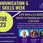Students! Join us virtually today from 1:35-3:00 p.m., to gain industry insights and connect with @byronpitts, Cynt Marshall, and @GlobeBobRyan! #HPU365  https://t.co/hP4c3Im41u  https://t.co/Qj31sUsECZ  https://t.co/CUCoVhg4QH