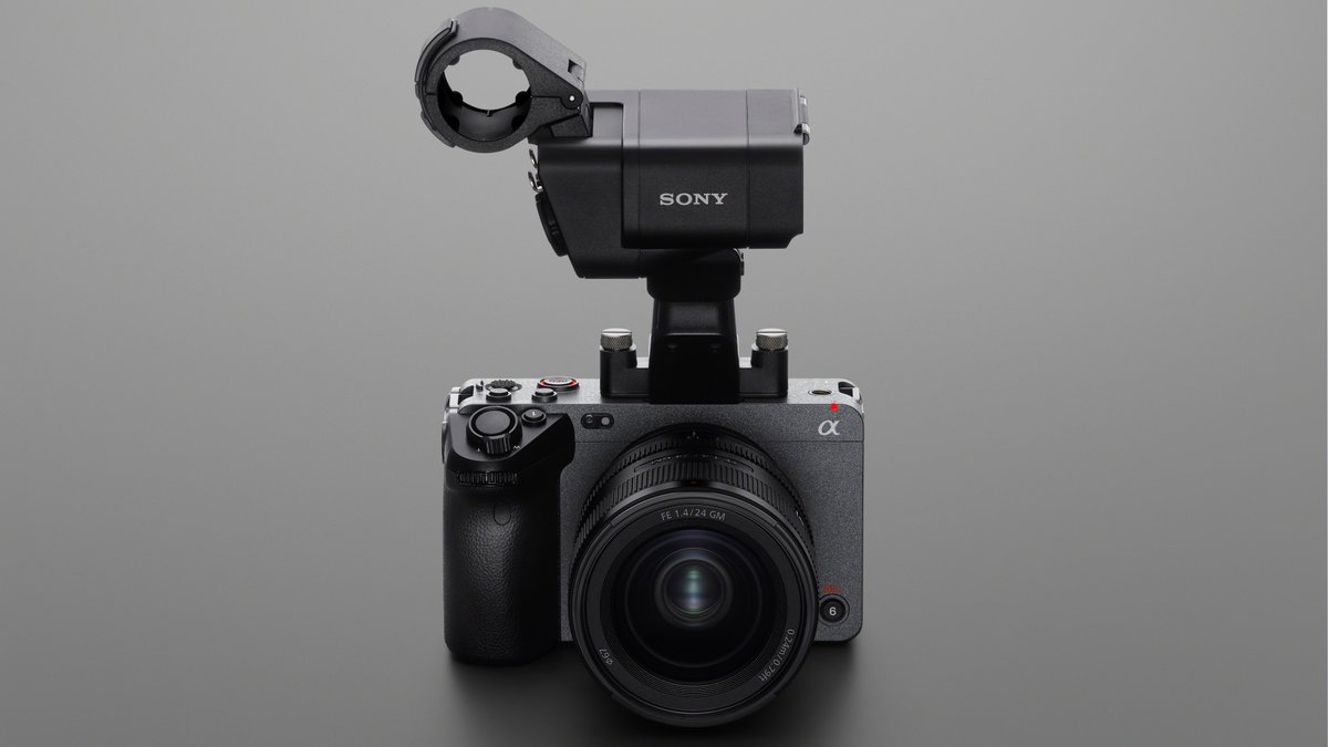 ANNOUNCEMENT: Introducing the all-new FX3 compact full-frame cinema camera featuring a detachable XLR handle unit, S-Cinetone, 4K 120p and so much more! Visit 👉  and join us at #BeAlpha Live Online this weekend (02/28) to learn more. #SonyAlpha