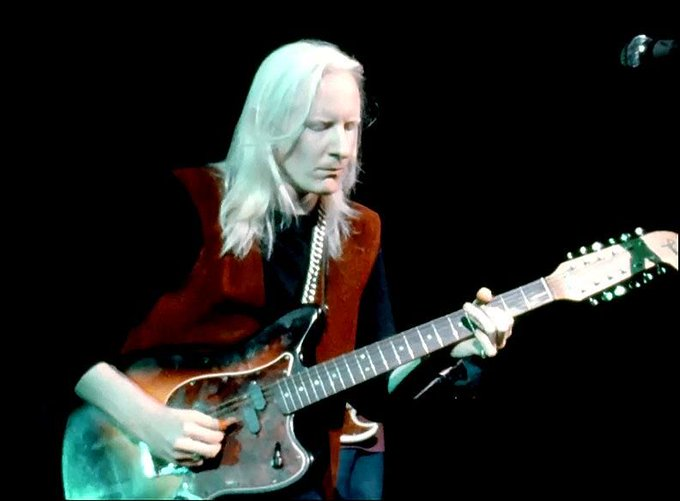 Happy Birthday to Johnny Winter! Johnny played on Day 3 at midnight until 1:10am