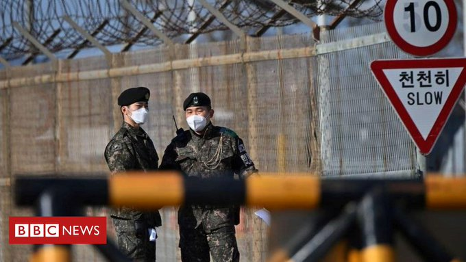 North Korea man wandered for hours in DMZ amid Souths security blunders Photo