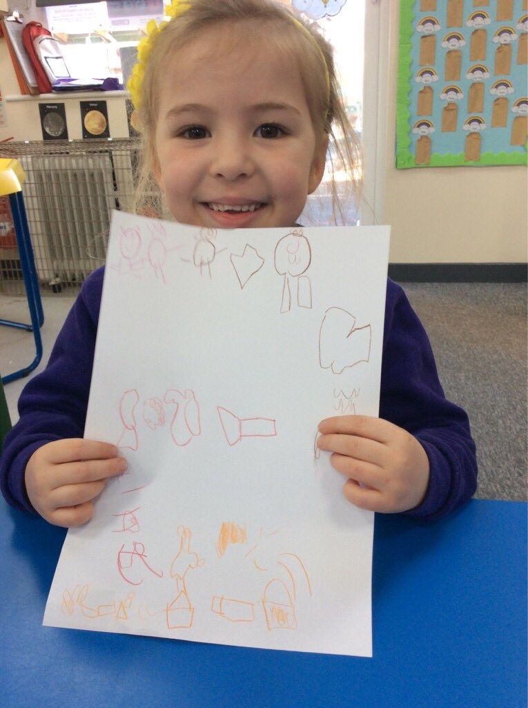 In Reception this week we have been learning all about the story of the three little pigs! The children have been drawing story maps today and they look fantastic! #eyfs #storytelling