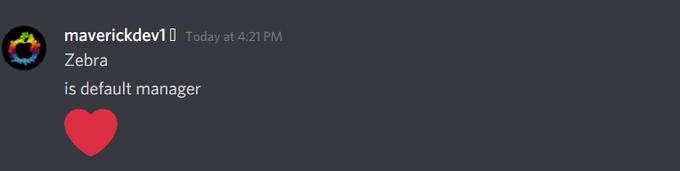 c0met-14jailbreak developer confirm their default package manager : Zebra