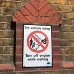 Image for the Tweet beginning: Drivers don't idle! Vehicles left
