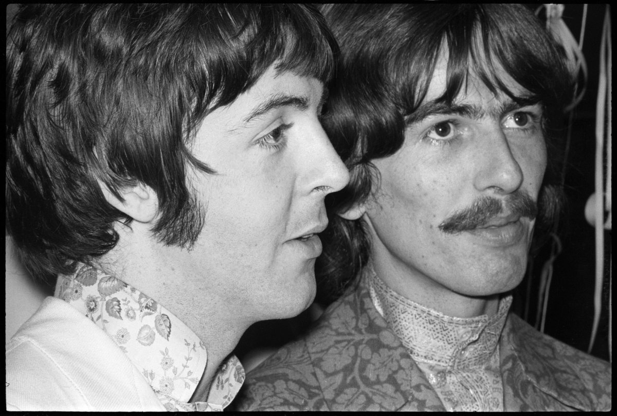 Have a great day on what would have been my mate George's birthday 🎂 - Paul  #PaulMcCartney #GeorgeHarrison