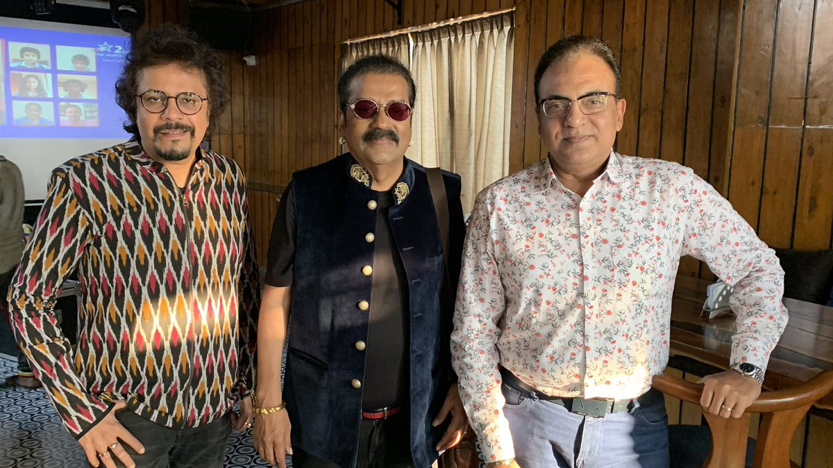Setting and gearing up for the launch of #ISHQsongsoflove sung by the super great @SingerHariharan and composed by dear buddy and the ever delightful@bickramghosh.  Honoured to direct all 6 music videos of the album. 1st video out with raving praises.