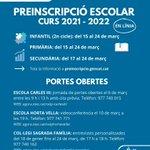 Image for the Tweet beginning: 👨🏼🏫 EDUCACIÓ | 🤔 Ja