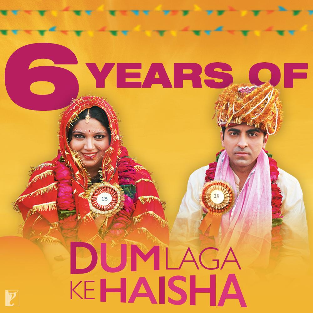 Prem, Sandhya and their endearing love story. #6YearsOfDumLagaKeHaisha