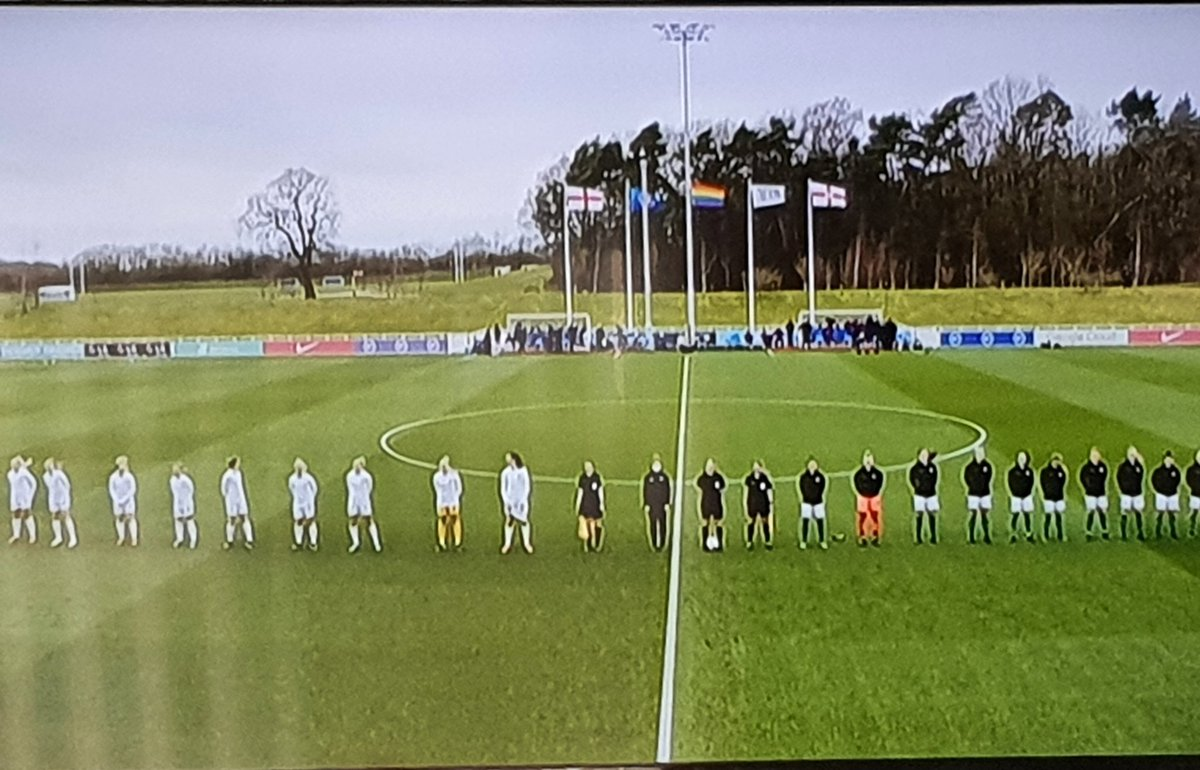 Good bit of footie 😁. @Lionesses vs @NorthernIreland.
