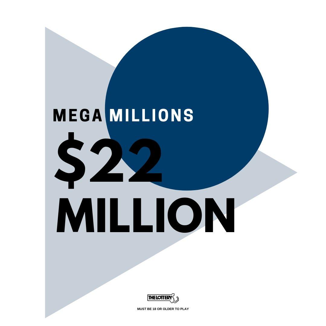 RT @MAStateLottery: Mega Millions estimated jackpot for Tuesday, February 23, 2021 drawing. Good luck! https://t.co/E26ByhpuQf
