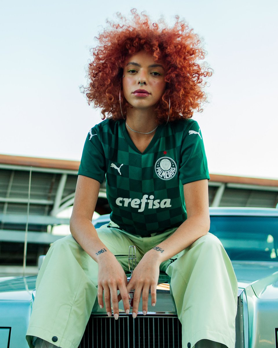 Wherever Green is, @Palmeiras is. New Home kit, available now 💚