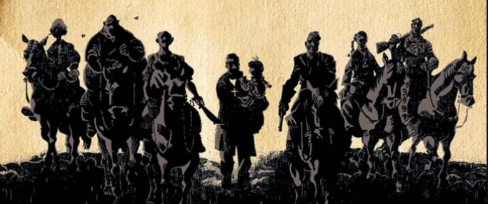[Review #Comics De la poussière, des flingues, du sang et de l'action : bienvenue dans un western façon @TKOpresents !   #Critique :   #BD #Comicbook #Western #TKO @paninicomicsfra