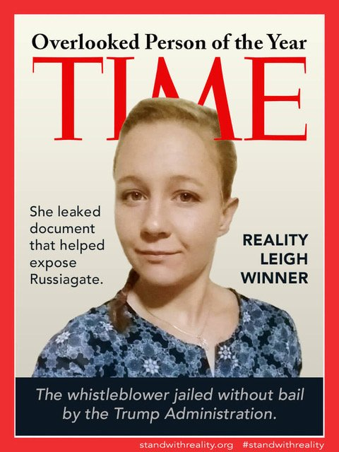 #FreeRealityWinner #BringRealityHome Those are the only thoughts for me today.