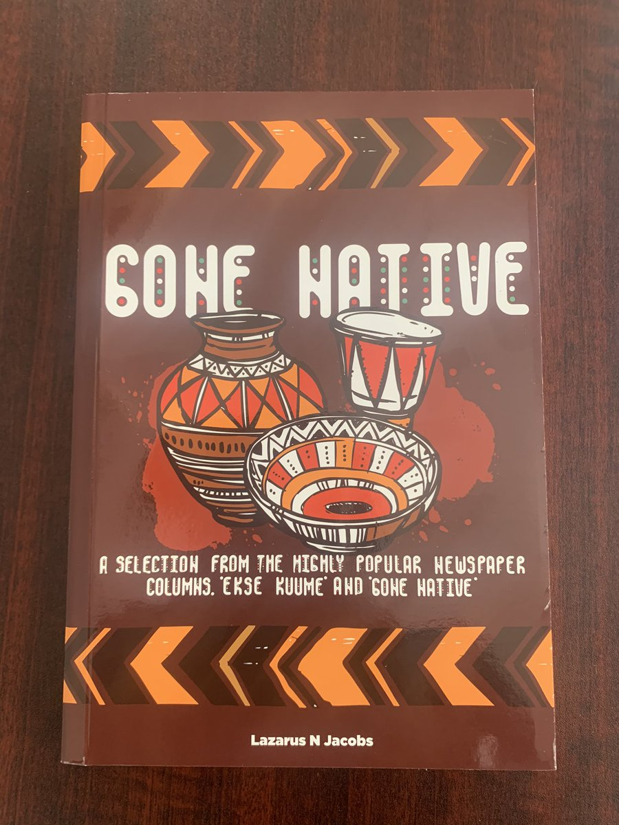This compilation in 'Gone Native' is a selection of these columns which were written over a period of almost 10 years. My writing was greatly inspired by the leaders I have mentioned and many of them are referenced in some of these columns. https://t.co/Gumix9qMHE