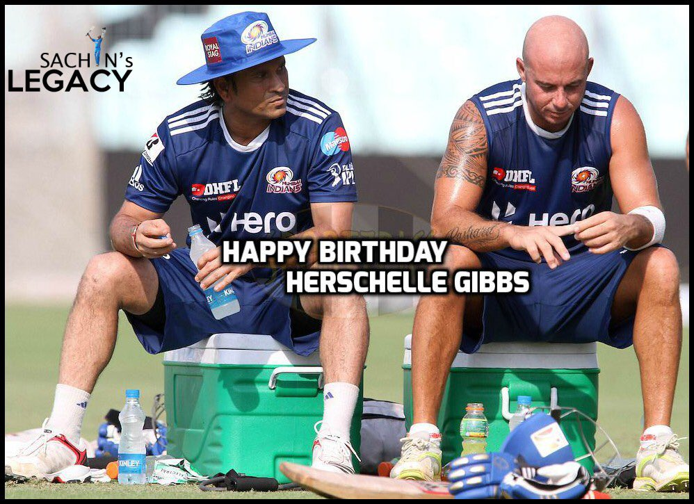 Happy Birthday to @hershybru 🎖Only man to hit 6 sixes in an over in ODI history 🎖Man who scored 175 in highest successful run chase in ODI history (438 against #Australia) #HerschelleGibbs   -A post from @sachin_rt pakistani fan page