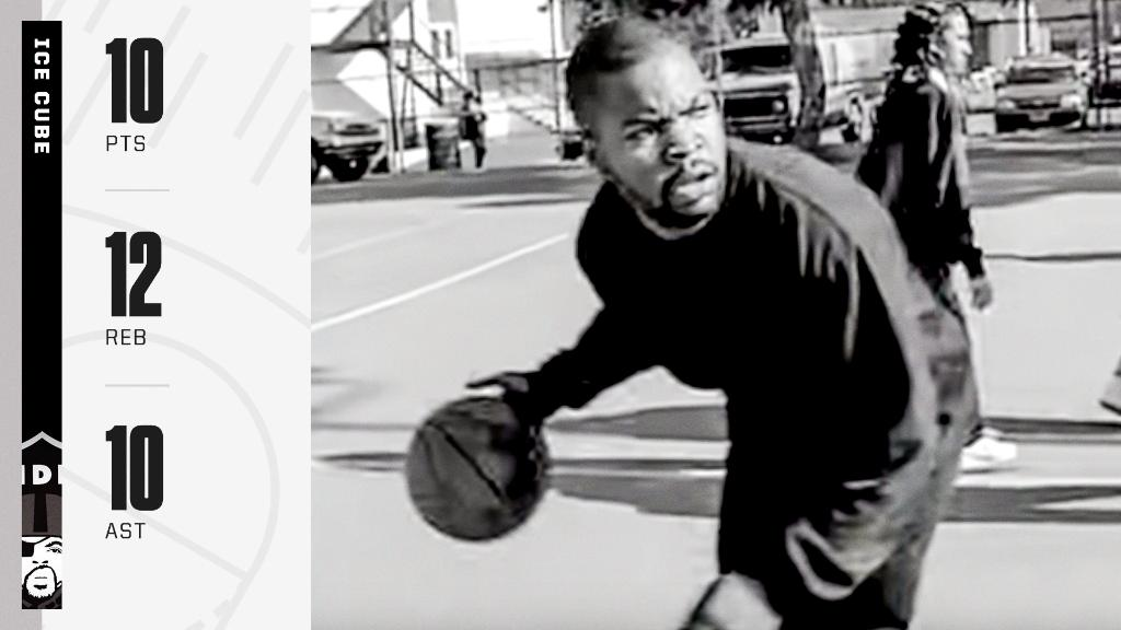 """🎶 Get me on the court and I'm trouble.  Last week, messed around and got a triple double 🎶  Today is the 28th anniversary of Ice Cube's single """"It Was A Good Day"""" 😎"""