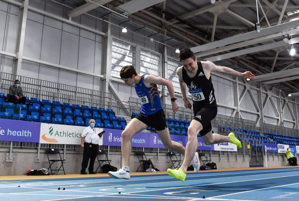 Mark English confirmed on Irish team for European Indoors
