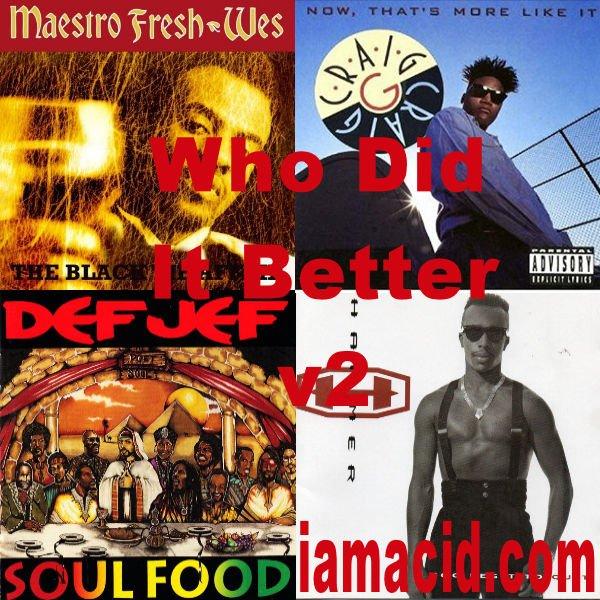 Who had the better album ? @MaestroFreshWes, @MC_Craig_G, @OfficialDefJef or @MCHammer #WDIB #QOTD #IAMACID #ACIDDA1 #WHODIDITBETTER #QUESTIONOFTHEDAY #ADMIRATION #SPLASH #ACID2779