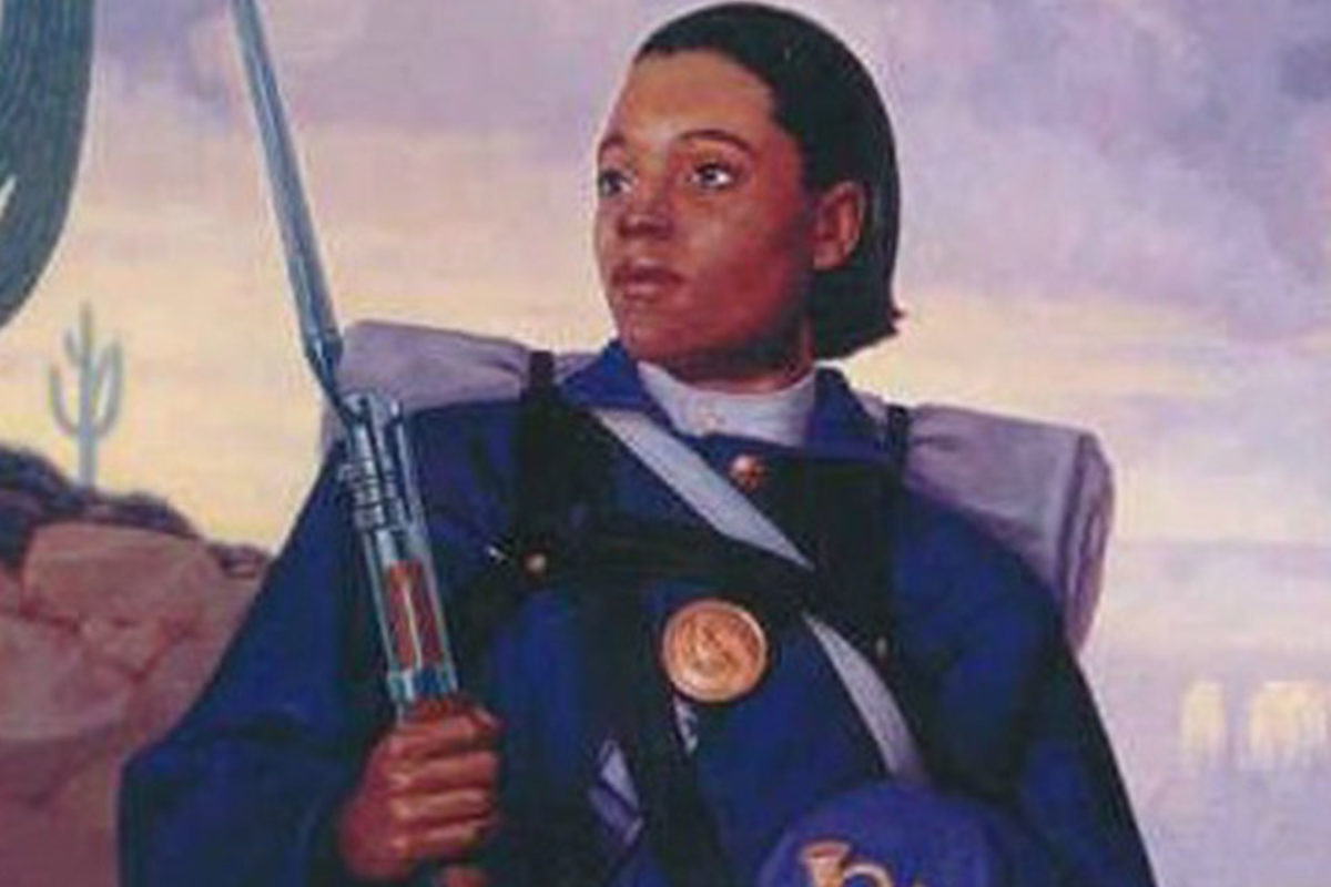 155 years ago, Cathay Williams disguised herself as a man so she could enlist with the 38th Infantry in the 13th Army Corps. This #BlackHistoryMonth, I'm thinking about her trailblazing service.