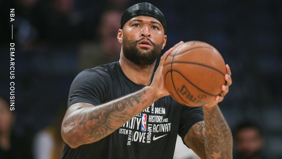 The Rockets are releasing DeMarcus Cousins. Houston guaranteed his $2.3M salary for the season last week, citing his professional approach. per @ShamsCharania