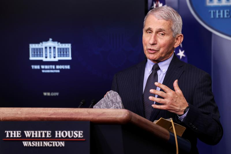 Fauci says he sees U.S. CDC relaxing some COVID-19 guidelines soon: CNN https://t.co/LiqlhwyWyF https://t.co/xbJyyRVHX2