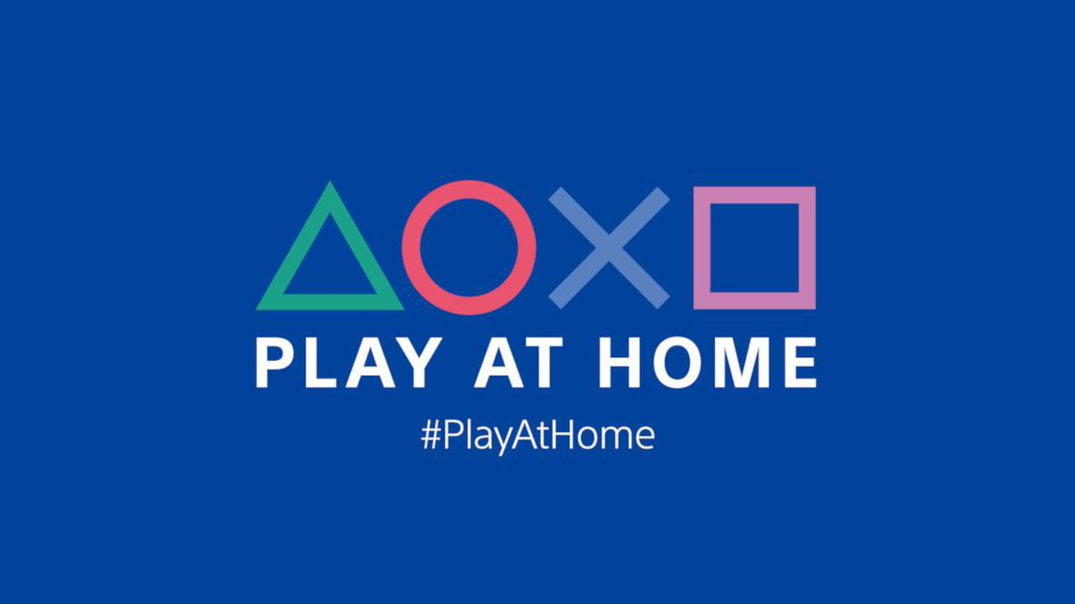 Play At Home returns on March 1, kicking off four months of PlayStation games and entertainment offers: