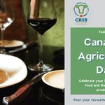 Image for the Tweet beginning: Today is Canada's Agriculture Day.