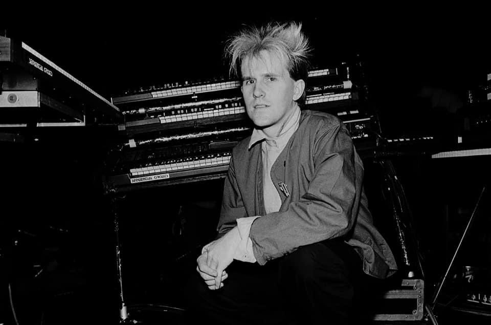 Happy Birthday to Howard Jones, seen here at Park West on May 13, 1984. : Paul Natkin